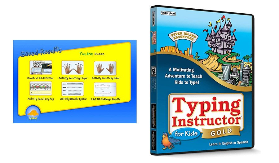 Typing Instructor for Kids Gold Edition