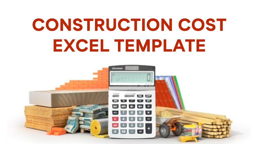 Construction Cost Excel Template