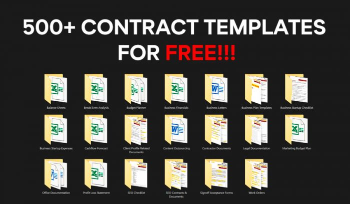 Contract Templates Free Download