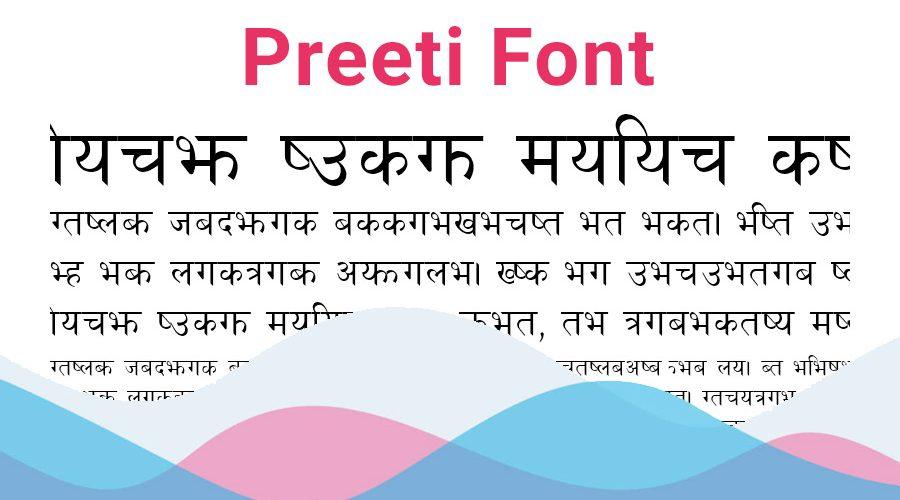 Preeti Font