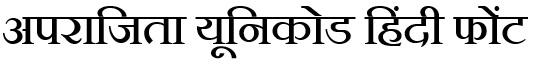 Aparajita-Font